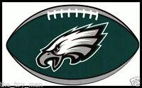 PHILADELPHIA EAGLES OVAL FOOTBALL NFL DECAL STICKER TEAM LOGO~BOGO 25% OFF