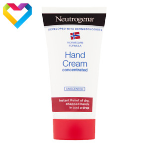 Neutrogena Hand Cream Concentrated Unscented For Very Dry Chapped Hands 75ml