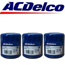 ACDelco PF64 Engine Oil Filter For Buick Cadillac Chevrolet GMC OEM 3 Pack