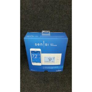 Emerson ST55 Sensi Programmable Smart Wi-Fi Thermostat White