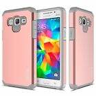 Samsung Galaxy J3 (2016) Case, Dual Layer Shockproof Case + Screen Protector