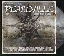 PEACEVILLE DVD PROMO CD Cradle Of Filth Katatonia Autopsy My Dying Bride