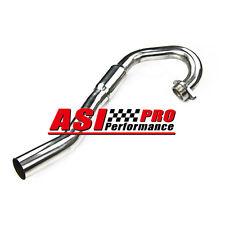 S/S Header Exhaust Head Pipe For 03-10 Suzuki LTZ400 LT-Z400 2003-2010 BOMB