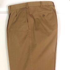 Men's DANIEL CREMIEUX Slacks PANTS Pleated Front 36X32 Tan BEIGE