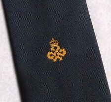QUEEN'S AWARD TECHNOLOGY LOGO TIE VINTAGE RETRO CLUB ASSOCIATION 1980s 1990s