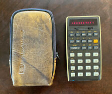 Vintage Hewlett Packard HP-22 Business Calculator, AC Cord, Manual w/Accessories