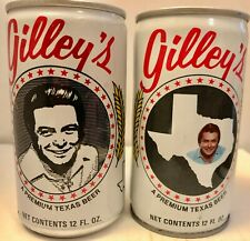 Set of Two Gilley's Beer Cans
