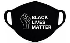 BLACK LIVES MATTER -Handmade-Reuseable-Washable Cloth Mask-In Stock Syracuse,NY