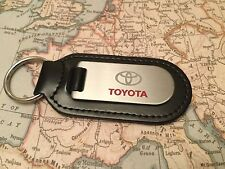 TOYOTA  Key Ring Etched and infilled C-HR RAV4  LANDCRUISER PRIUS GT86 AVENSIS