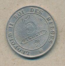 België/Belgique 5 ct. Leopold II 1901 Fr Morin 252a (134824)