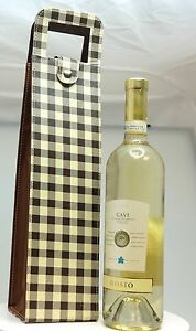 Wine & Spirit Tote by ClaubyClaudine