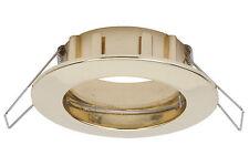 3er-set Paulmann Einbauleuchten Ip44 997.41 99741 Gold Einbaulampe Downlight