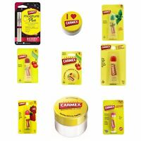 Carmex Moisturising Dry & Chapped Lip Balm Care Collection SPF15 1 2 3 6 Pack