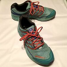Merrell Women's Shoes MBOUND Blue Orange Low Top Lace Up Athletic Size 10 or 41