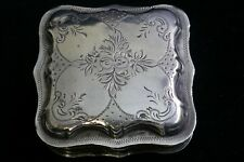 Gorgeous 19th Century Dutch Silver Snuff Box