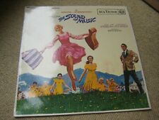 The Sound Of Music LP RCA UK Mono 1st Issue Movie Soundtrack [Vg+/Ex-]