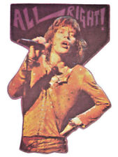 ROLLING STONES T-SHIRT IRON-ON VINTAGE VINYL MICK JAGGER HEAT TRANSFER TOUR 1980