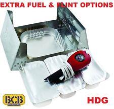 BCB BUSHCRAFT COOKER FOLDING HEXI STOVE FIREBALL FLINT GEL FUEL ARMY ESBIT