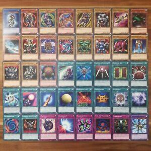 Dunkles Magier Mädchen Soldat Deck Spiegelkraft 40 Karten Yugi Muto YGLD deutsch