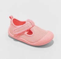 Toddler Girls' Water Shoes Cat and Jack Pink Size 6*
