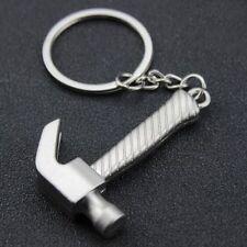Creative Mini Working Tool 3D Claw Hammer Keyring Keychain Alloy Key Ring Chain