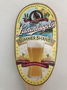 Leinenkugel Summer Shandy 1867 Leinie's Beers Wooden Tap Handle. Ships Free