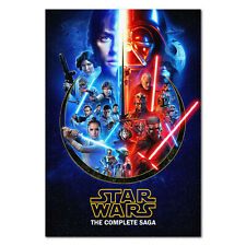 Star Wars The Complete Saga of Poster - Official Art - High Quality