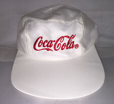 Vtg Coca Cola Coke 5 Panel Long Bill Polo Hat Cap Rare 90s Deadstock Og Soda