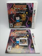 Tiempo de Aventuras Explora la Mazmorra de vídeo juego para Nintendo 3DS NTSC-U Probado