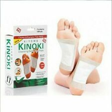 10 Kinoki Pads Entgiftungspflaster Vitalpflaster Fußpflaster mit Mulitrabatt NEU