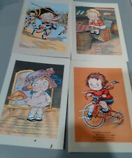 CAMPBELL'S SOUP KIDS GREETING/NOTE CARDS box of 20 with envelope.  BLANK INSIDE