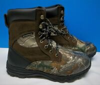 Herman Survivors Mens Camouflage Waterproof Hunting Boots Size 9 W, NEW IN BOX