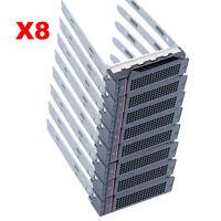 "Lot of 8, 3.5"" SAS SATA HDD Hard Drive Tray Caddy For Lenovo Thinkserver RD630"