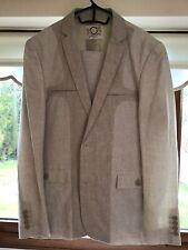 """Carnet De Vol Linen Mens Suit 40"""""""