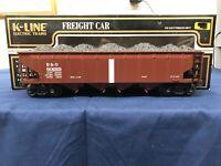 K-line Die-Cast Baltimore & Ohio Brown Classic 4 Bay Hopper K623-1094