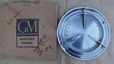 NOS 1960 Pontiac HUB CAP Original GM script Wheel Cover PMD