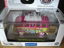 M2 Machines 1960 60 VW Hippie bus Volkswagen Super Chase 1:64 Diecast 1/108 Made