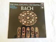BACH by the PHILADELPHIA ORCHESTRA - EUGENE ORMANDY Conductor