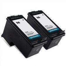 2pk Hp 96 C8767WN Black ink print cartridges