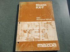 1982 Mazda RX-7 Shop manual