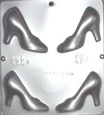 Cinderella  Glass Slipper Assembly Chocolate Candy Mold  1304 NEW