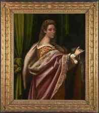 Sebastiano del Piombo RITRATTO DI UNA SIGNORA stampa in A4