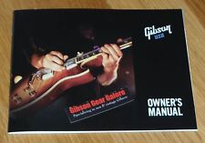 Gibson Les Paul Manual Brochure Owners Booklet Guitar Parts Flyer SG ES HP T R9