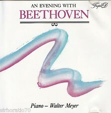 BEETHOVEN An Evening With CD - Piano - Walter Meyer
