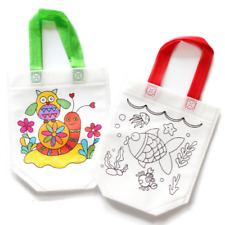 Children's DIY Environmental Protection Graffiti Bag Kindergarten Hand Painted