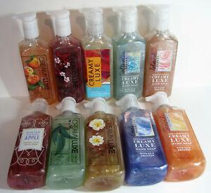 Bath & Body Works CREAMY LUXE Hand Soap, 8 fl.oz / 236 mL, w/Silk Proteins, NEW