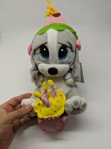 "Sad Sam Dog HONEY Plush Birthday Applause 14"" Musical New with tags."