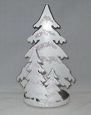 Bath & Body Works 3 Wick Candle Holder Snowy Winter Tree