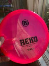 Kastaplast REKO K1 Line Putt & Approach Chock Rosa Pink with Black Foil 172g NEW