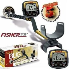 """Fisher Gold Bug Metal Detector w/ 5"""" Dd Double-D Search Coil and 5 Year Warranty"""